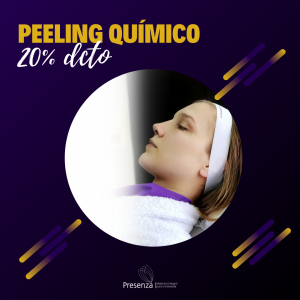 peeling químico black days